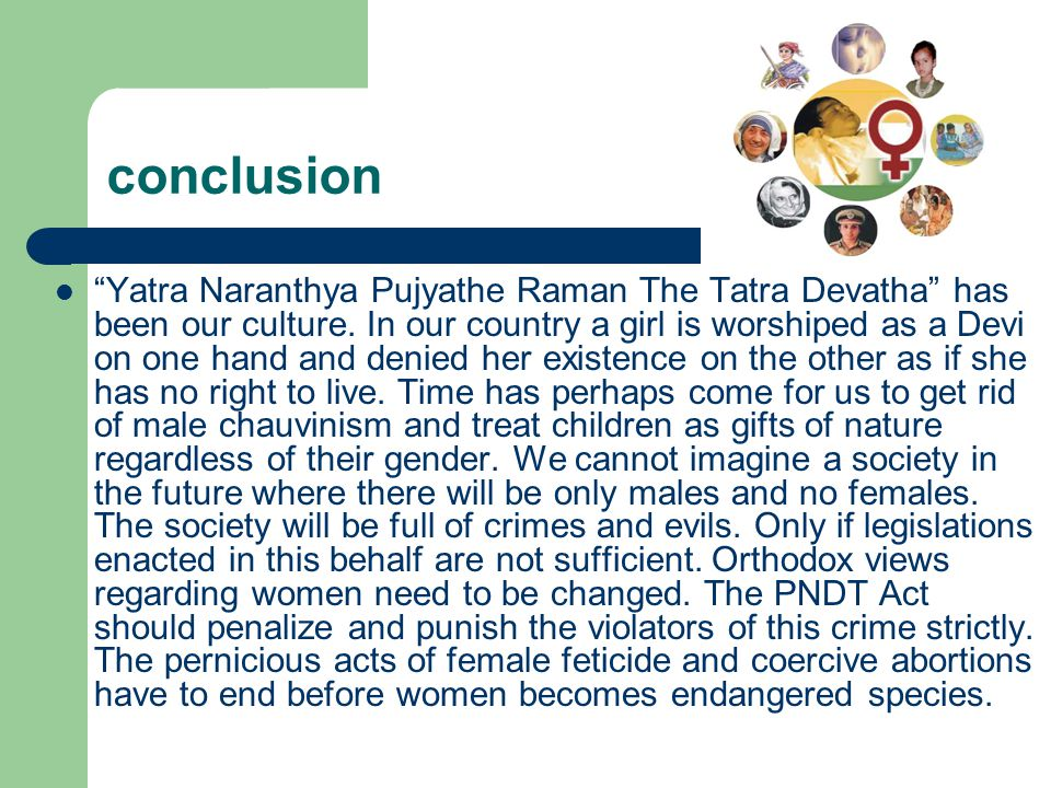 female foeticide ppt In which person is married) wwwyaseerhsstblogspotcom family and gender  wwwyaseerhsstblogspotcom the incidence of female foeticide has led to a.