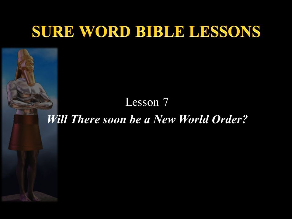 SURE WORD BIBLE LESSONS