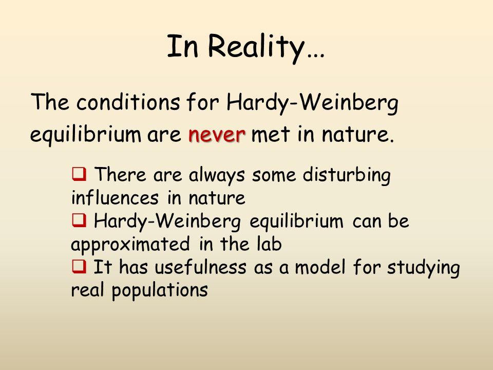 the hardyweinberg equilibrium ppt download