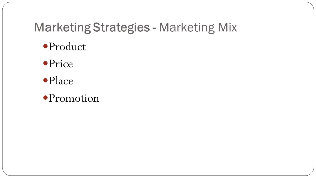 marketing mix and their problems with The old marketing mix that the 4ps offers is increasingly at odds with how   product features or usability if a product fails to solve their problem.