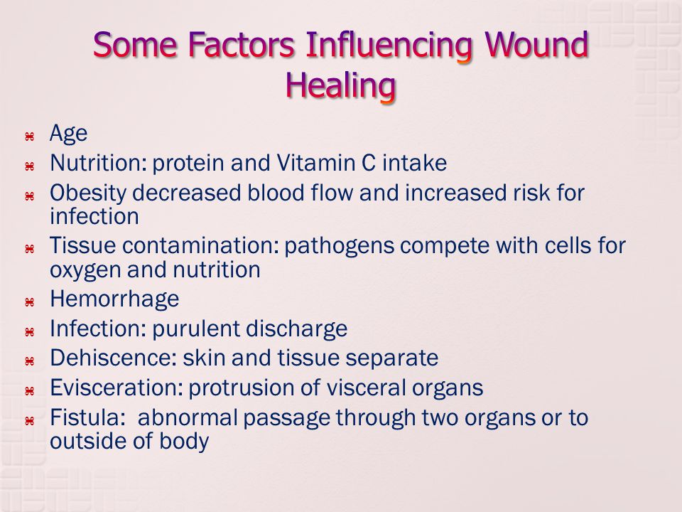 wound healing and nutrition Understanding the link between wound care and nutrition  wound healing is a complex process which can be further complicated by chronic illness poor nutritional.