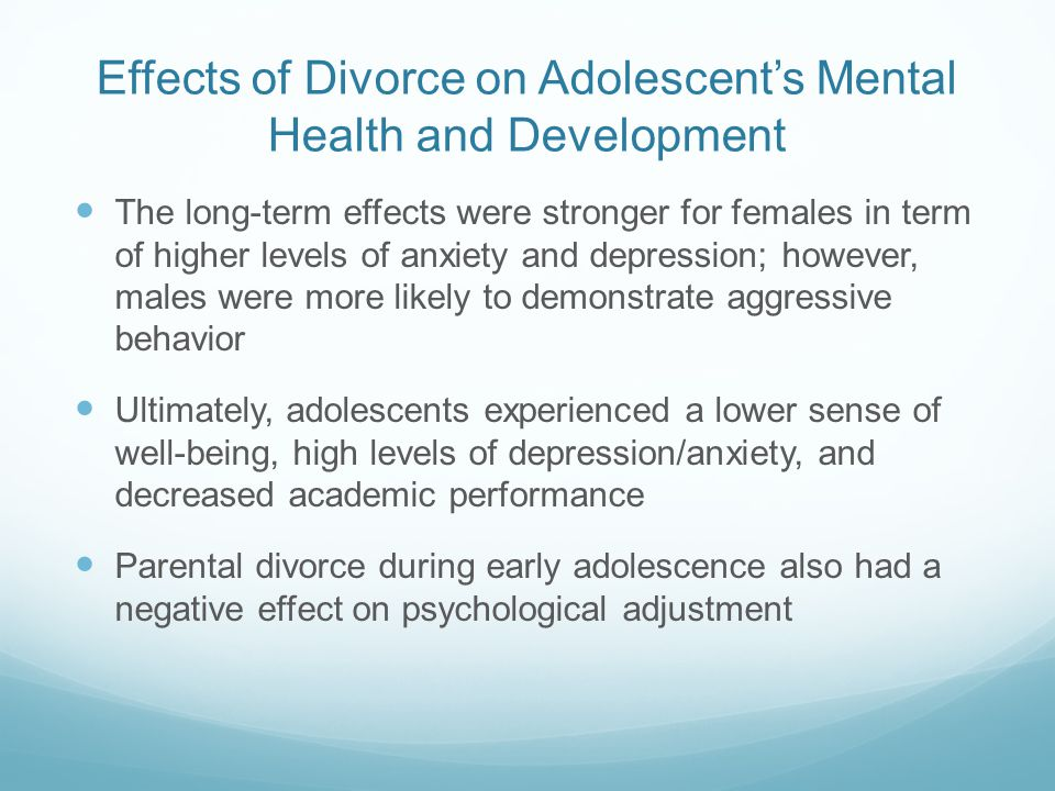 the effects of depression on children and adolescents Information on depression in children and adolescents including diagnosis, treatment and self-help materials.