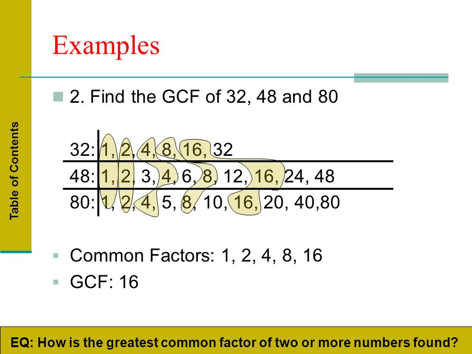 Find Common Factors and GCF Using Venn Diagram of 24 and 40 - YouTube