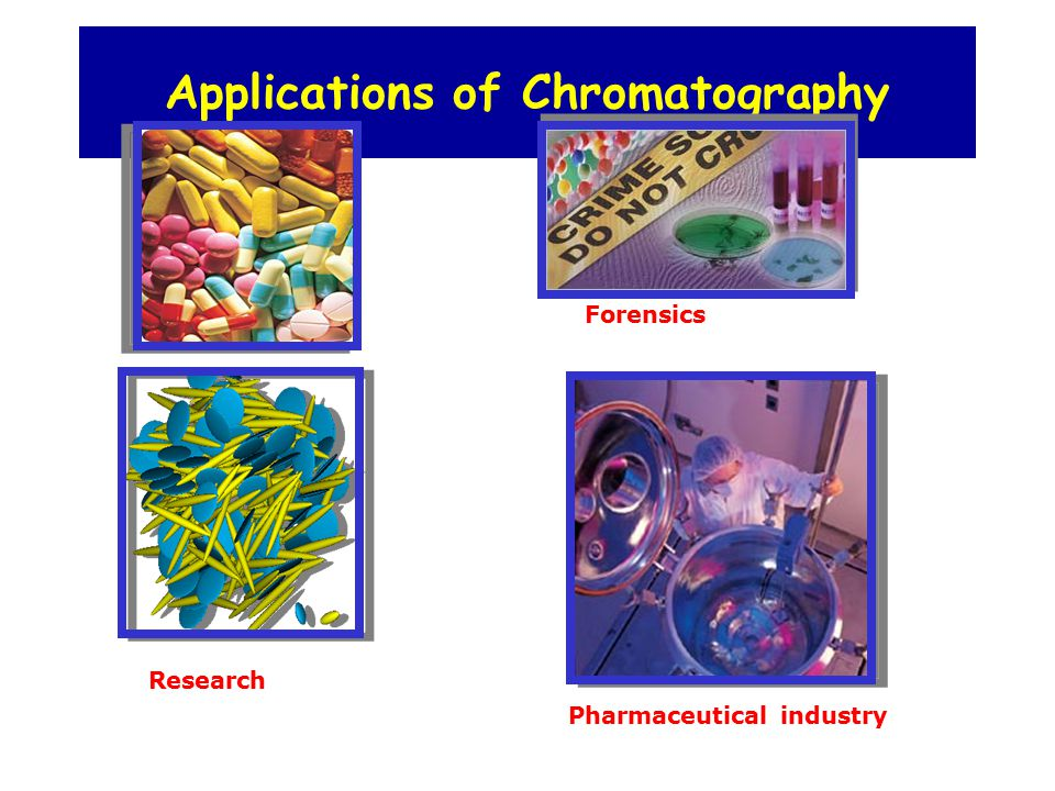 liquid chromatography finds its usefulness in forensic science Hplc (high performance liquid chromatography) is one of the types of chromatography it is highly sophisticated and expensive analytical tools in the present science  this method of chromatography finds vast use in 1 clinical diagnosis of diseases, disorders 2 in scientific research for discovery.