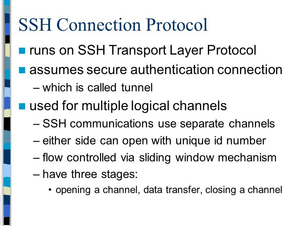 transport-level and web security  ssl    tls  ssh