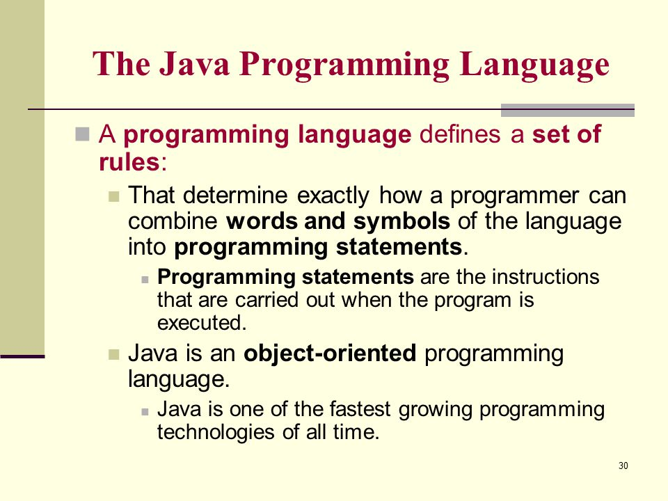 Object-oriented Java programming