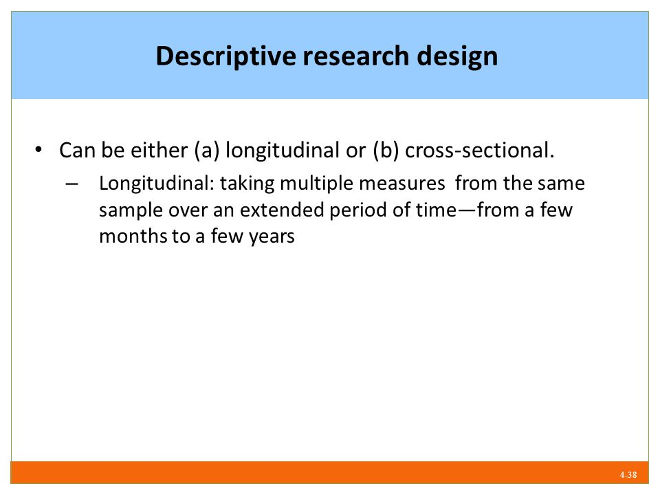 example of descriptive research All descriptive research questions have a dependent variable you need to identify what this is however, how the dependent variable is written out in a research question and what you call it are often two different things.