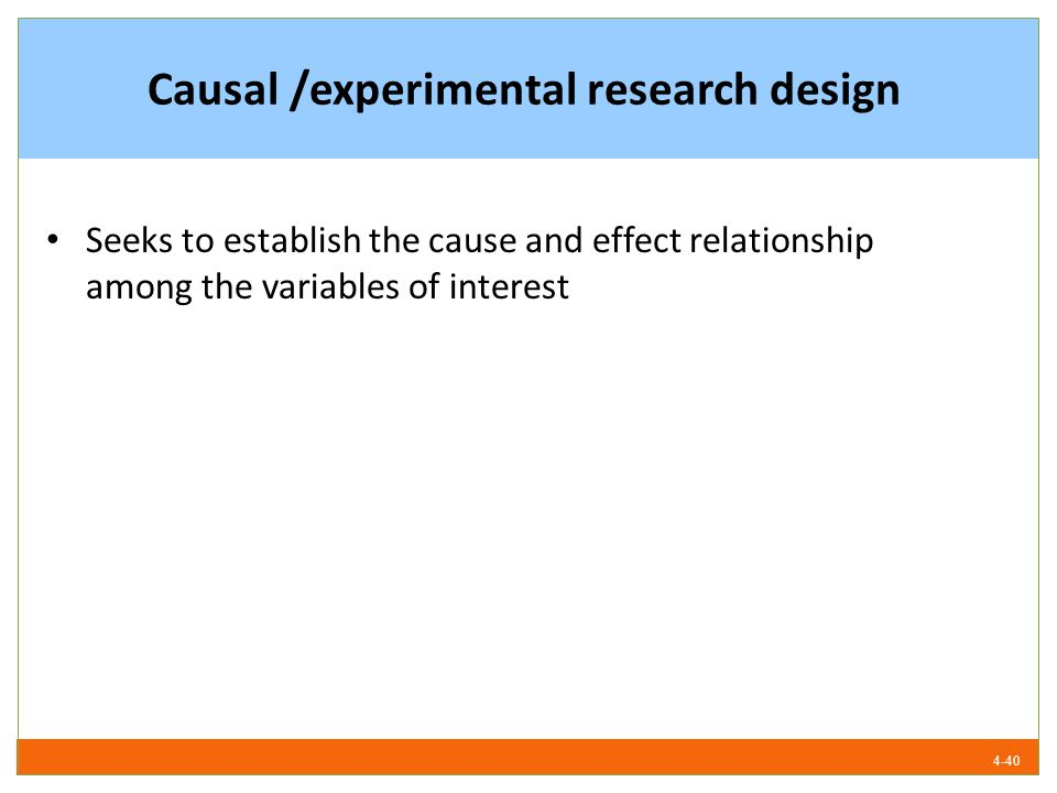 experimental design in research methodology pdf