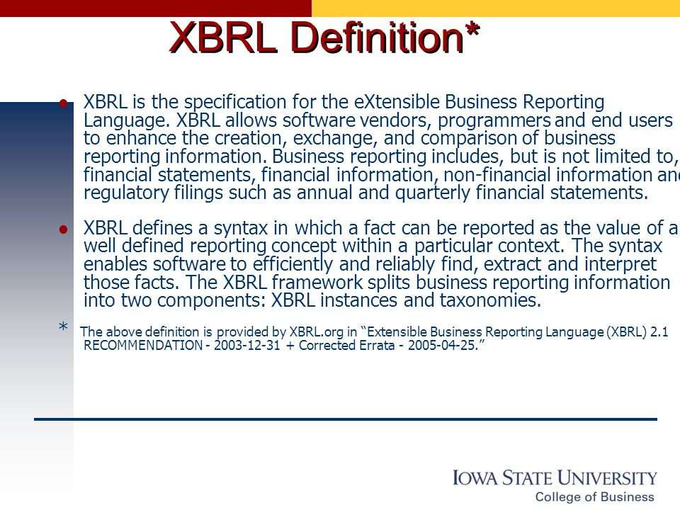 XBRL guide for UK businesses
