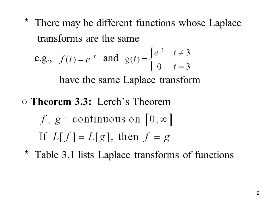 laplace transforms This matlab function returns the laplace transform of f.