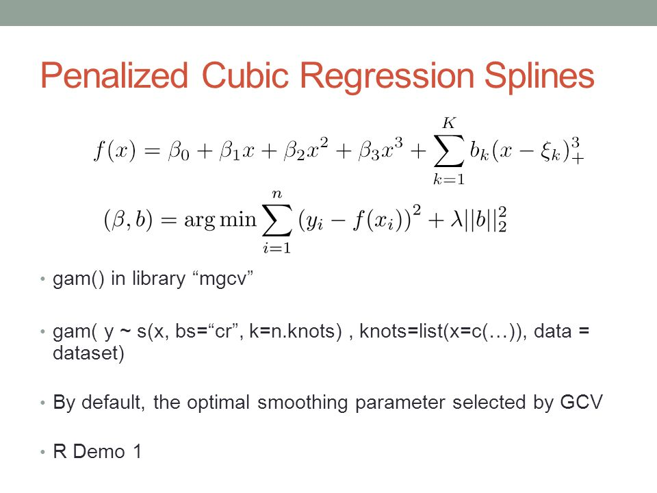 how to find cubic regression