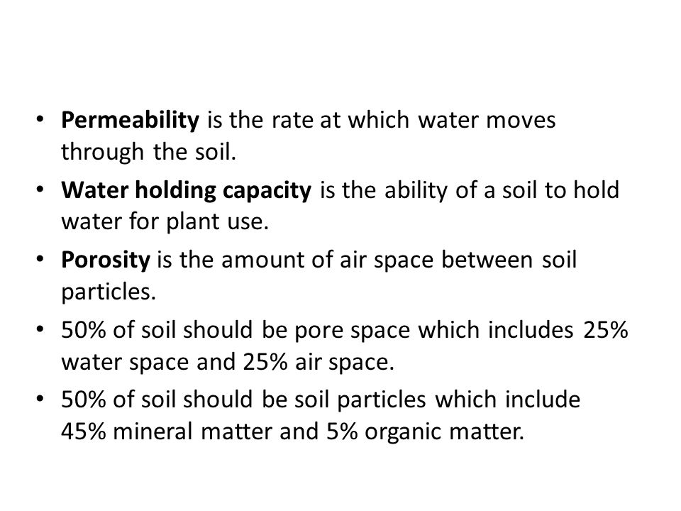 Growing plants hydroponically vs in soil ppt video for Mineral soil vs organic soil