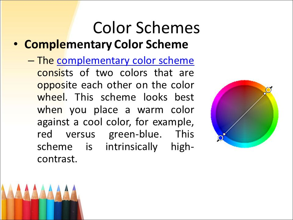 13 Color Schemes Complementary
