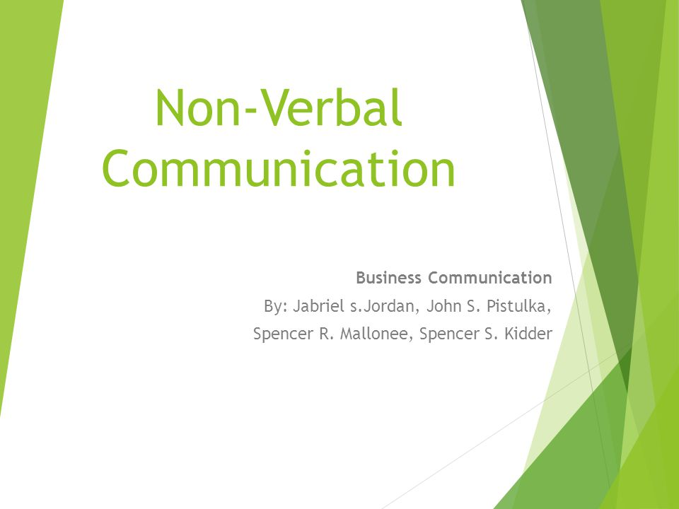 non verbal communication in advertising