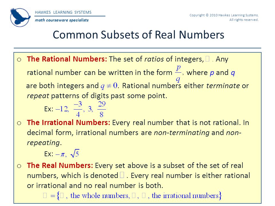 Hawkes Learning Systems: College Algebra - ppt download