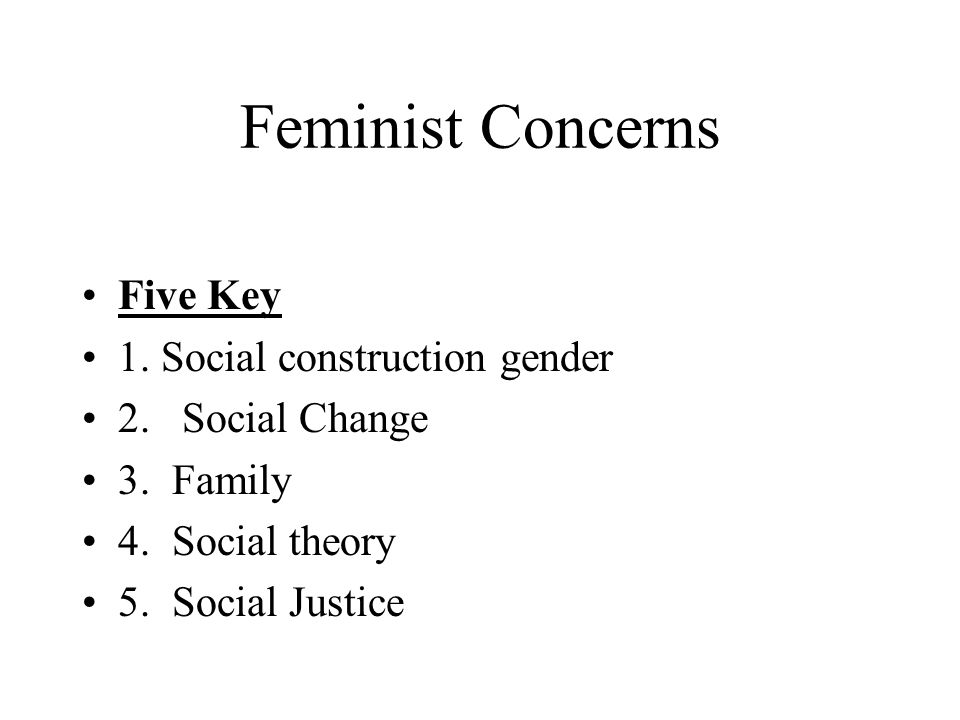 an analysis of the construction of feminism theory Hacking briefly examines helène moussa's analysis of the social construction of and feminist postmodernist to construction theory as used.