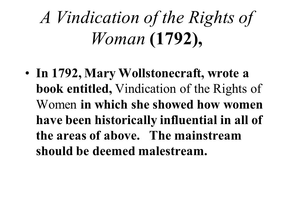 vindication of the rights of woman 1792 pdf