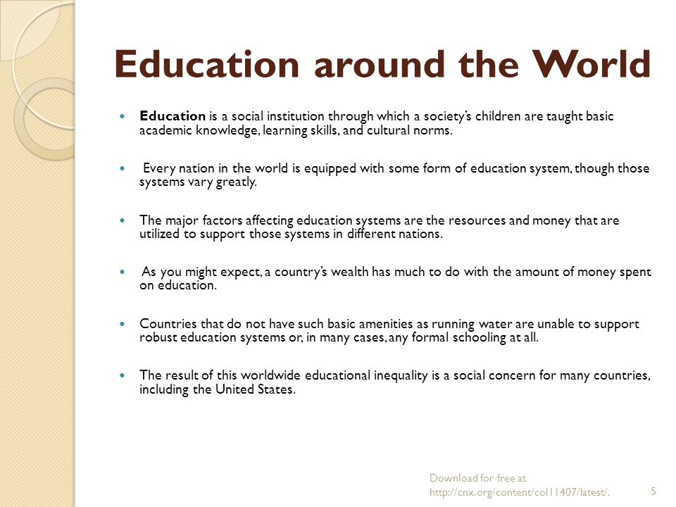 education system in two different countries What can other countries learn from these two successful, but  in korea, as in  other asian countries, class sizes are very large — which would be  a very  strong education system, such as a longstanding rhetoric about the.