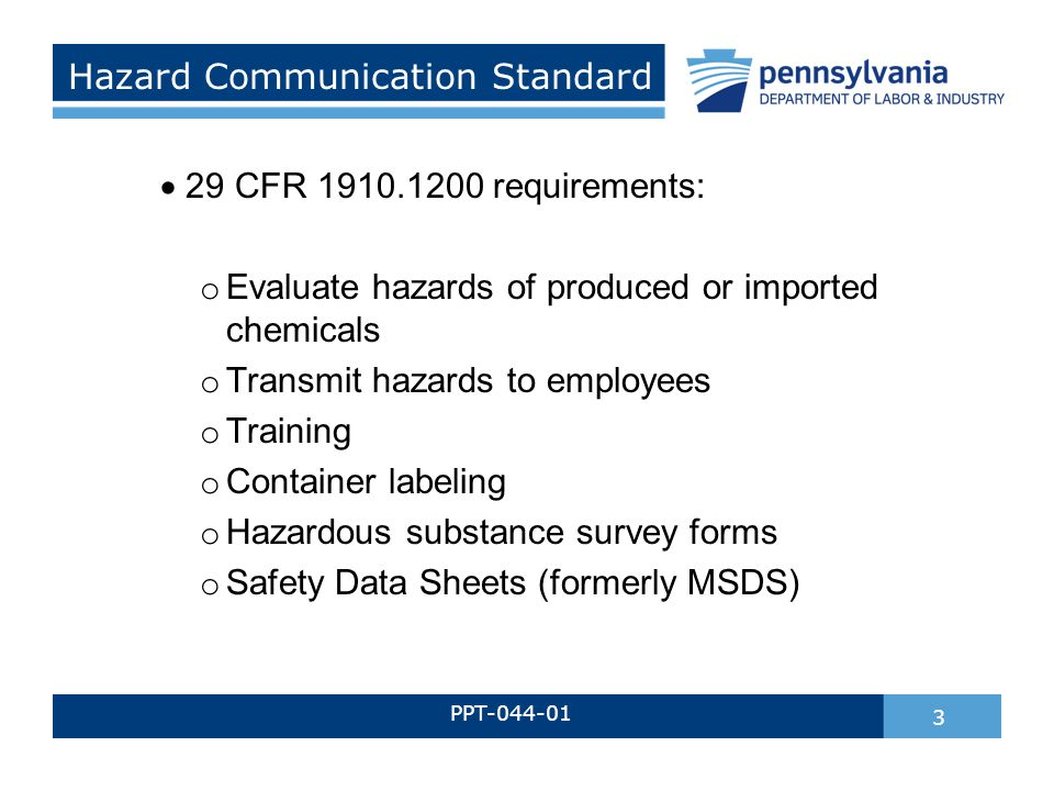 Hazardous Materials Awareness Ppt Download