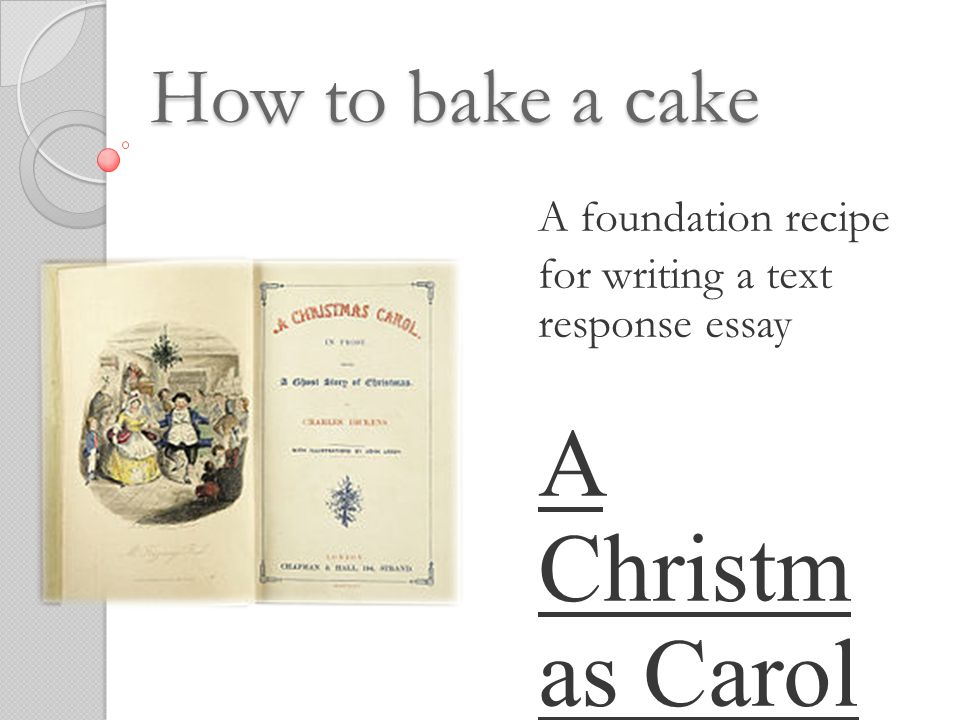 a christm as carol how to bake a cake a foundation recipe ppt  a christm as carol how to bake a cake a foundation recipe
