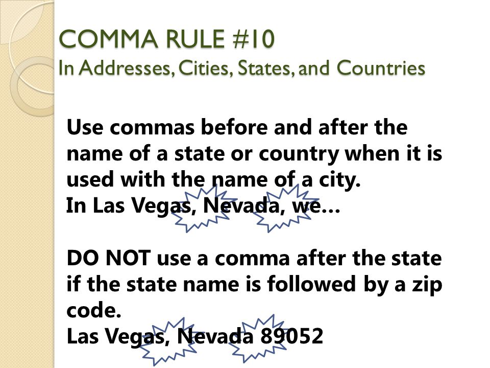 Conquering the Comma!. - ppt download