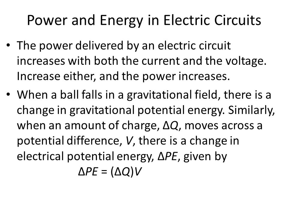 how to find charge knowing power and potential difference