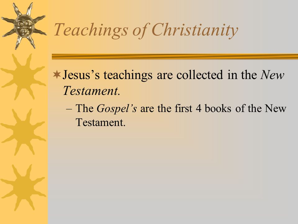Teachings of Christianity