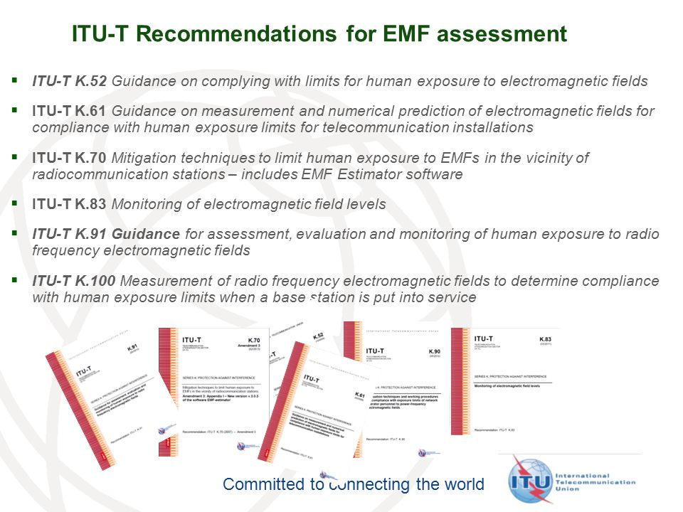 ITU-T Recommendations for EMF assessment