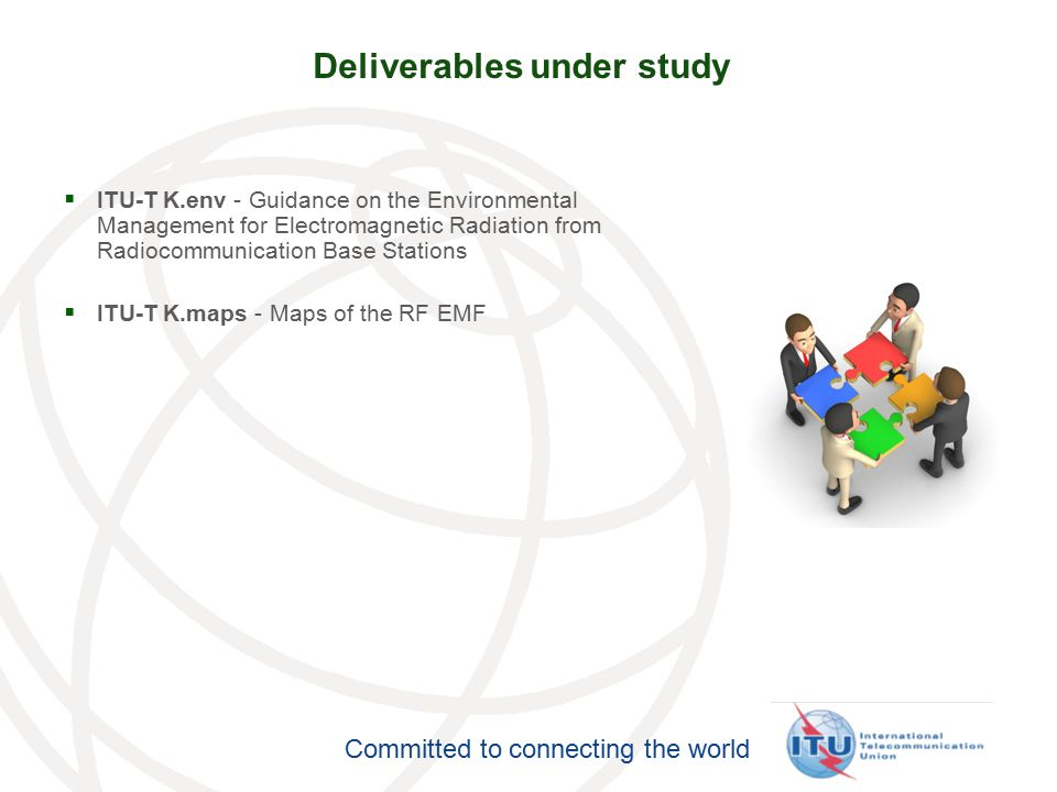 Deliverables under study