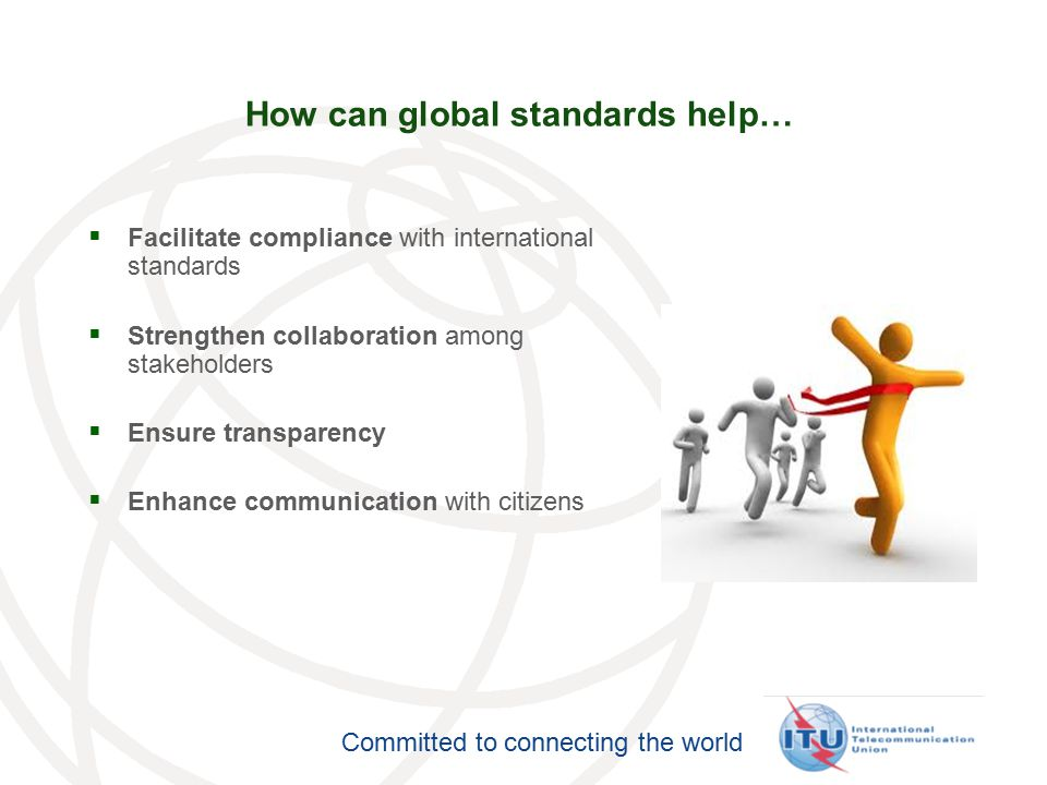 How can global standards help…