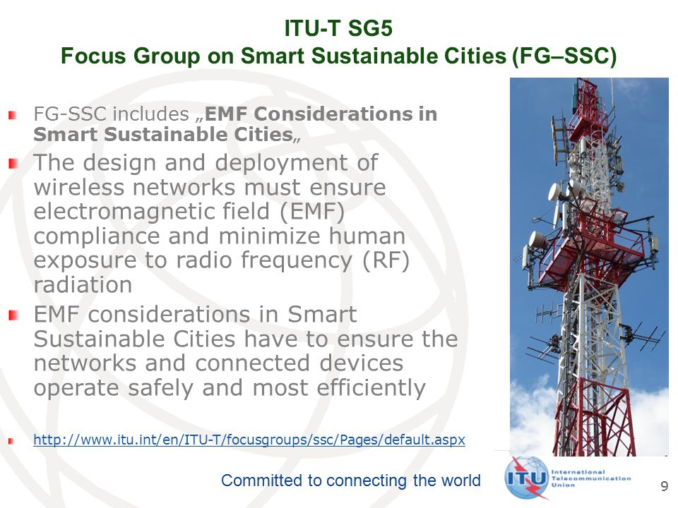 ITU-T SG5 Focus Group on Smart Sustainable Cities (FG–SSC)