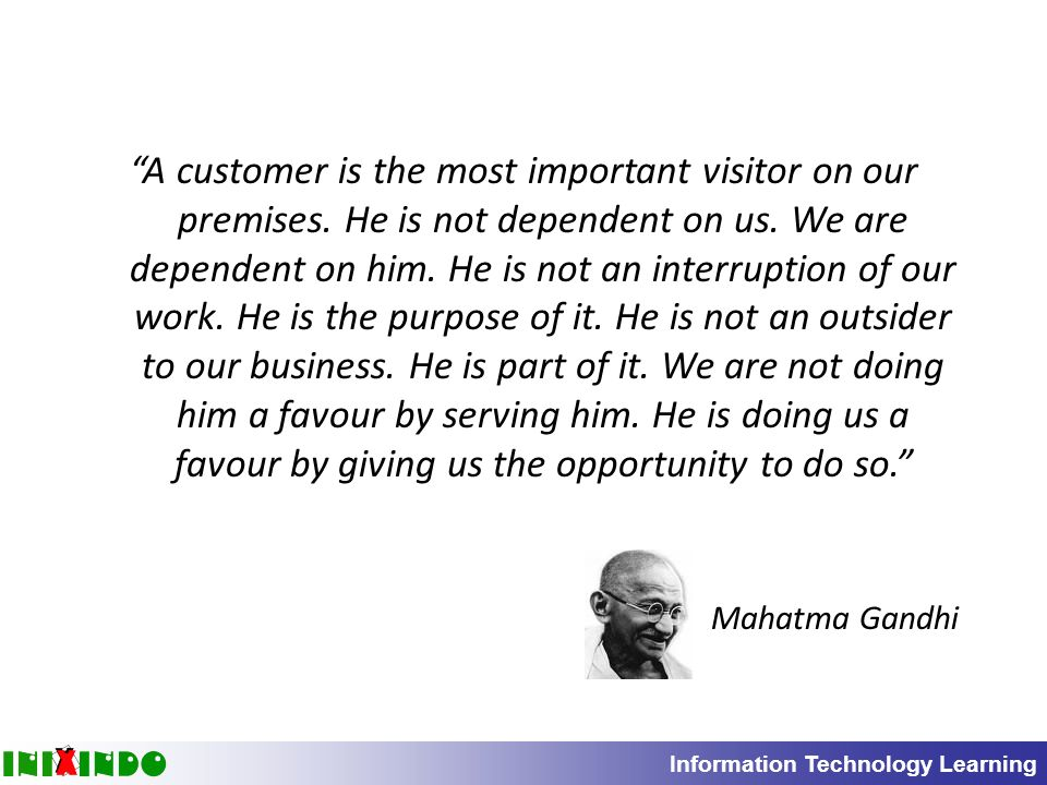 Customer care is an important point in management