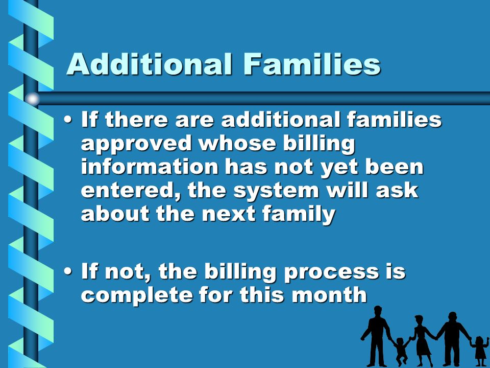 Additional Families