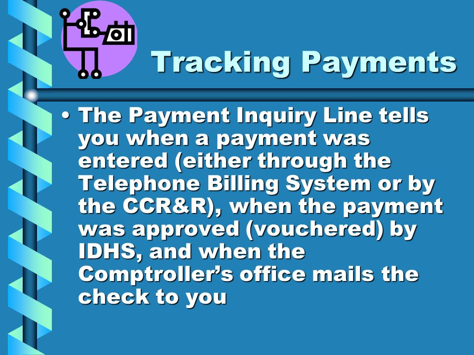 Tracking Payments
