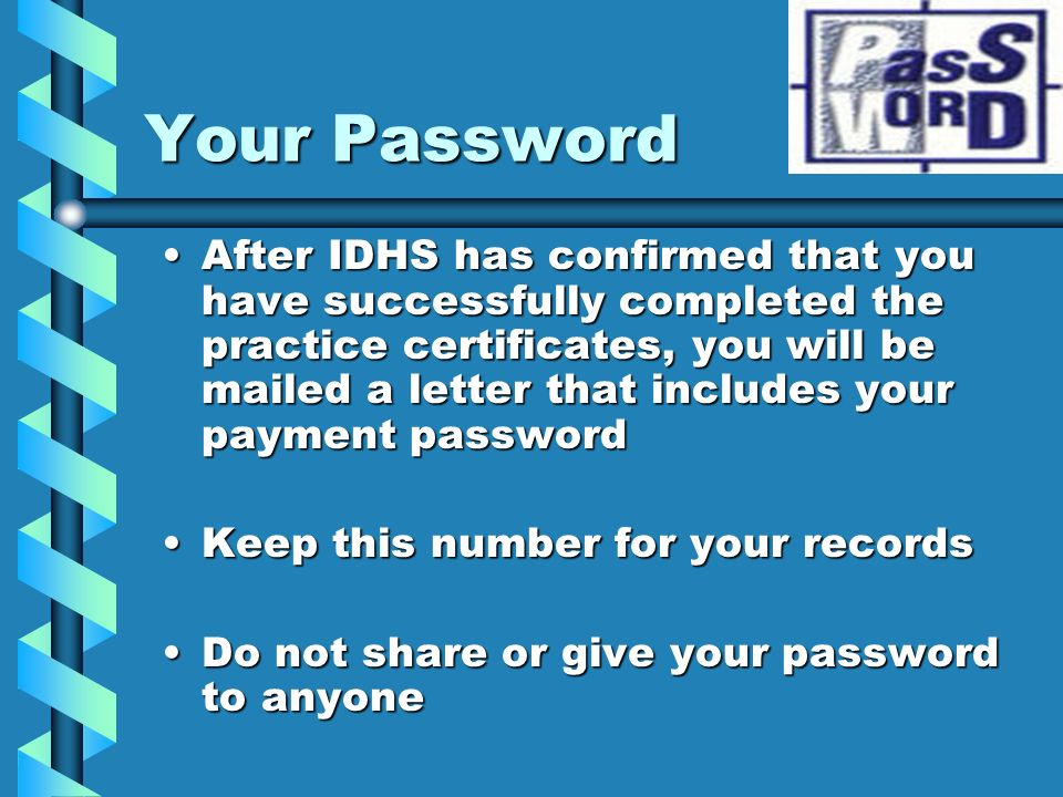 Your Password
