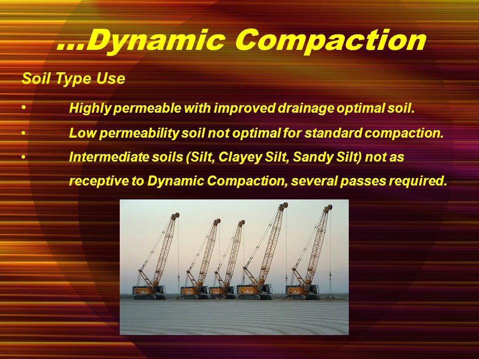 purpose of compaction types of compaction The objective of this study was to evaluate the susceptibility to compaction of  different classes of soils under no-tillage (nt) croping system compared to the.