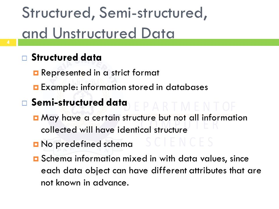 databases is a structured collection of A data model instance, ie applying a data model theory to create a practical data model instance for some particular application a data model theory has three main components: [20] the structural part: a collection of data structures which are used to create databases representing the entities or objects modeled by the database.