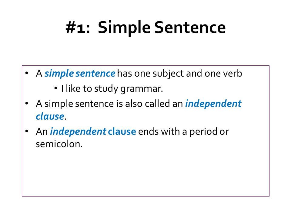 how to find the simple subject of a sentence