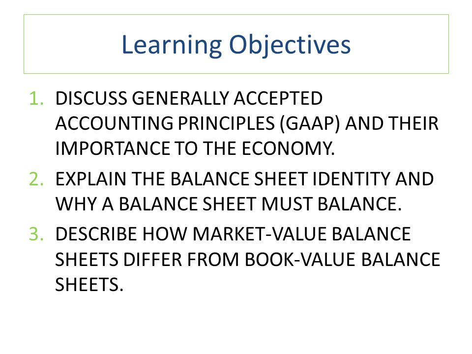 Generally Accepted Accounting Principles (United States)