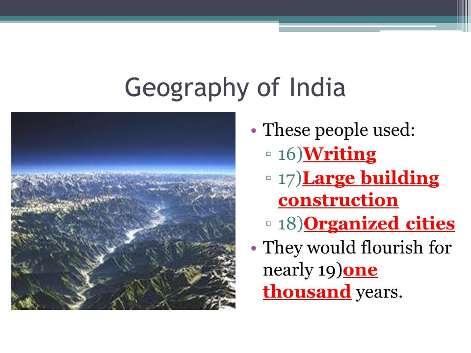 geographical features of india essay About the tutorial geography is a comprehensive subject that includes a wide range of topics like the location of geographic to various surface and subsurface features of the earth the.