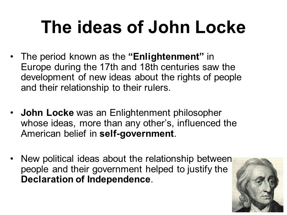 an analysis of the declaration then and now by john locke In the united states declaration of independence social contract theories opinions on social contract, which then caused the john locke's second.