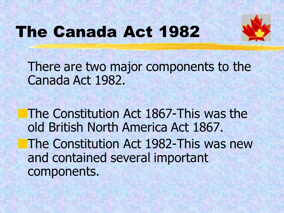 Canadian and American Government