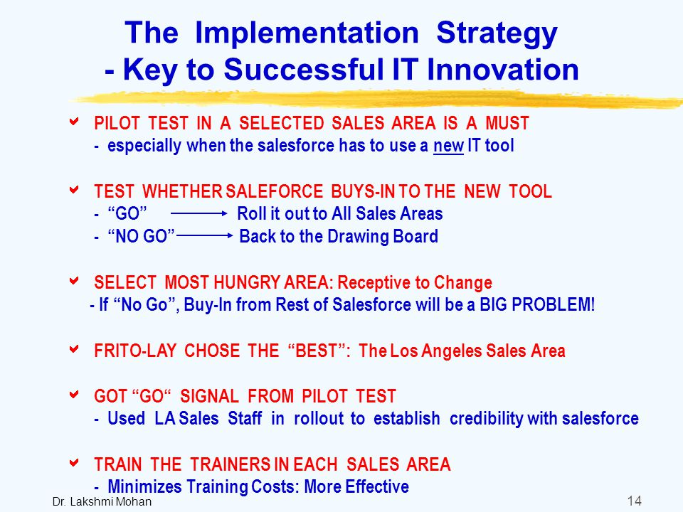 the keys to a successful implementation 1 the keys to successful implementation of any information technology project are planning and execution true (true answer ) false 2 a successful business plan for an electronic commerce initiative should include activities that identify the initiative's specific objectives and link those objectives to business strategies true (true answer ) false 3 organizations of different sizes will have.