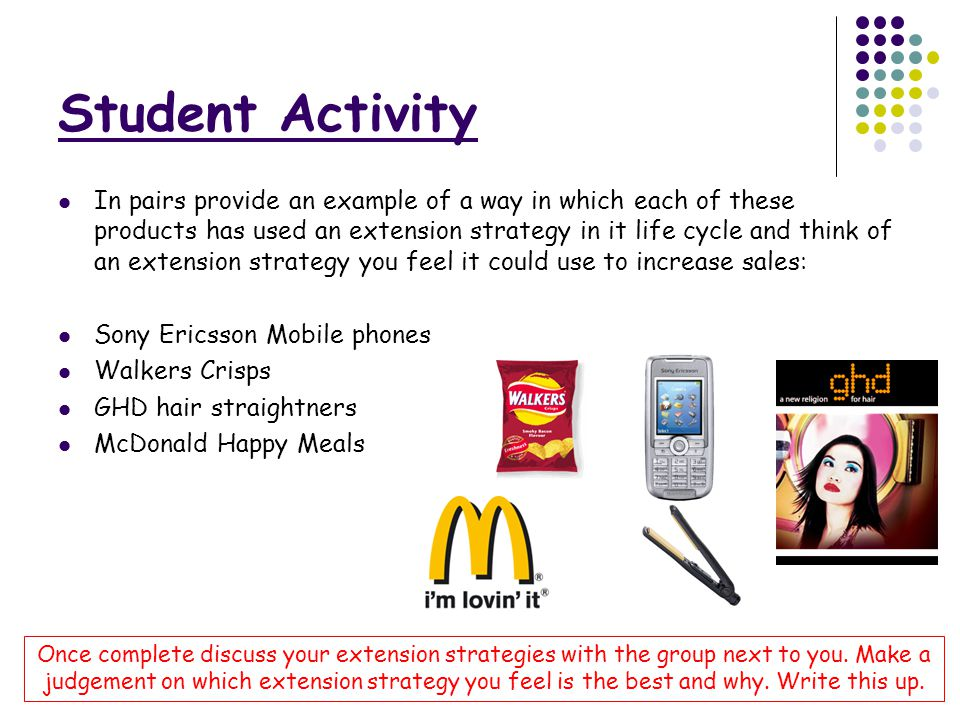 life cycle of mcdonalds Industry life cycle strategies mcdonald company uses the advantage of being from buisness a 350 at devry university, chicago.