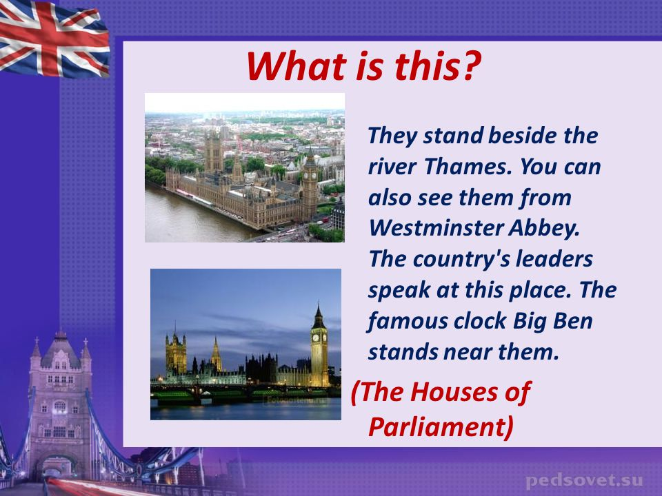 What is this (The Houses of Parliament)