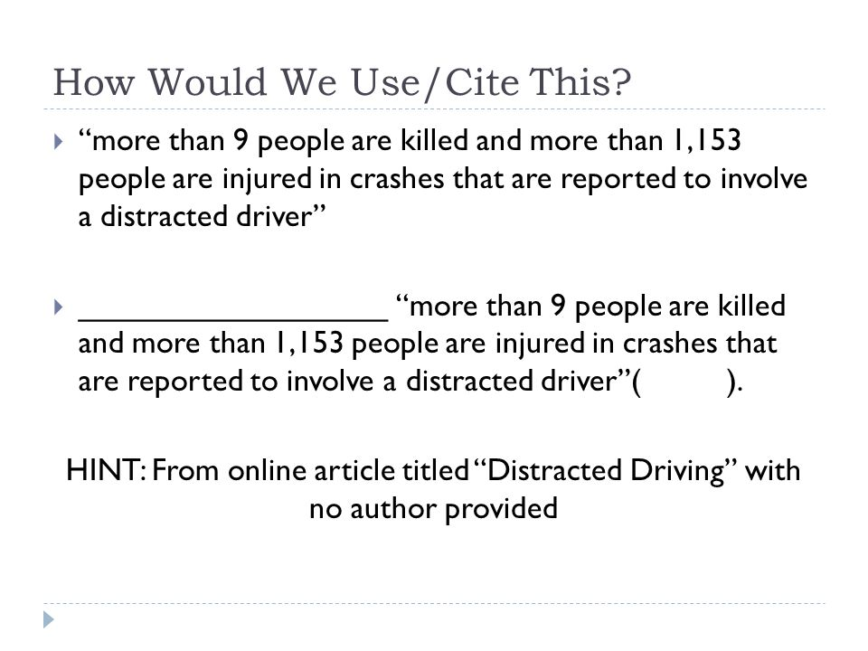 distracted driving research paper essay Distracted driving research paper distracted driving multitasking has developed into an essential part of people's lives and it is expected of human beings to be able to multitask at a high level (madden 15.