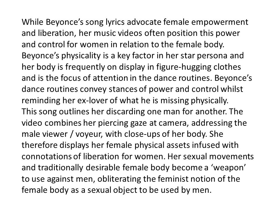 MS4 Music Industry Case Study: Beyonce. - ppt video online download