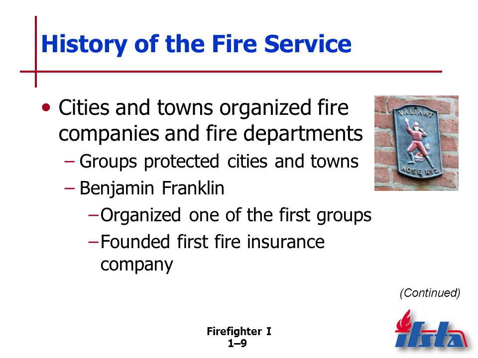 History of the Fire Service