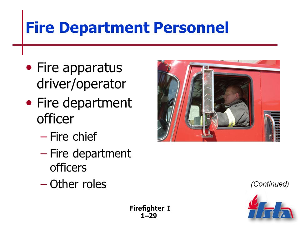 Fire Department Personnel
