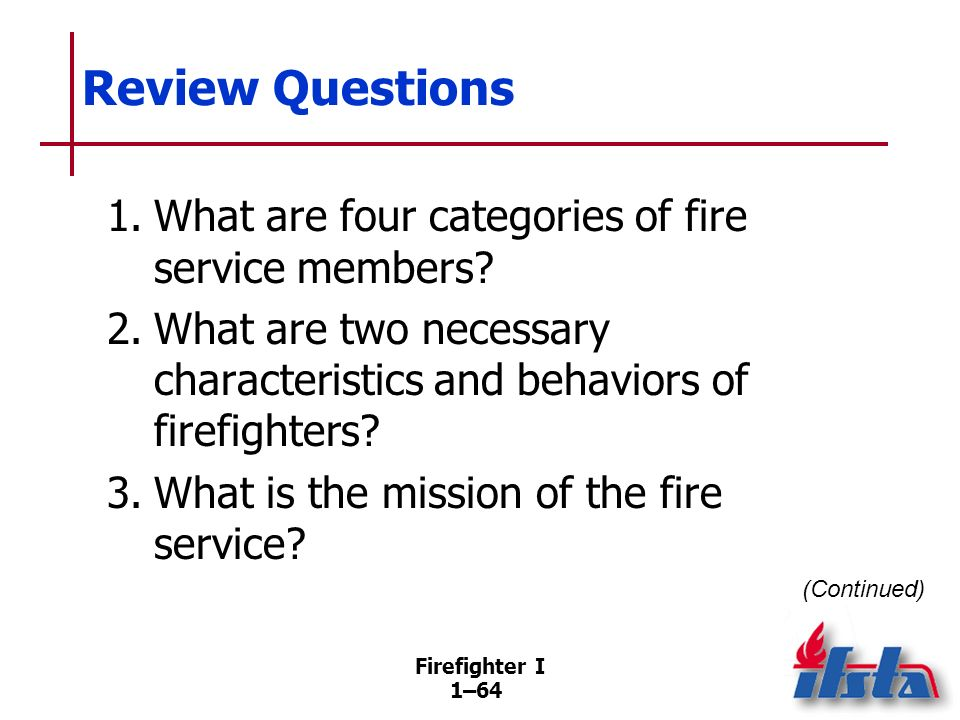 Review Questions 4. What is unity of command